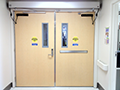 Dual Egress Integrated Rite Doors with Operator